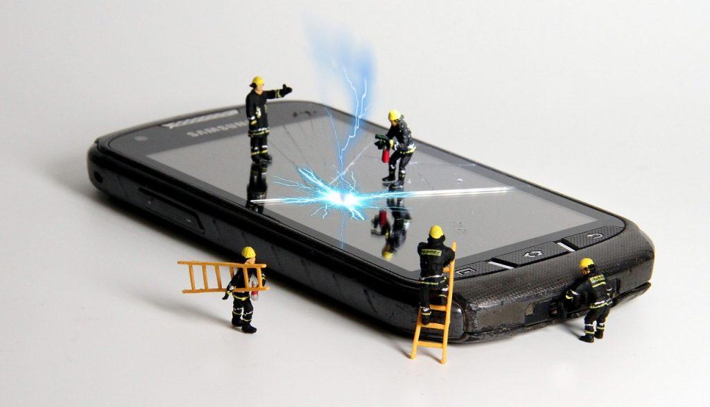 Réparation de téléphone portable1